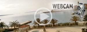 webcam rab város rab-sziget horvátország webkamera