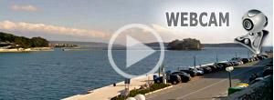 rab város kikötő webcam webkamera